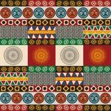 Bezszwowy majski, aztec wzór ilustracja wektor