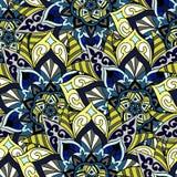 Bezszwowy mandala wzór dla drukować na papierze lub tkaninie Islamu i języka arabskiego motywy Zdjęcie Stock