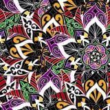Bezszwowy mandala wzór dla drukować na papierze lub tkaninie Islamu i języka arabskiego motywy Obrazy Stock