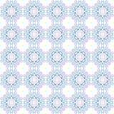 Bezszwowy mandala wzór w marokańskim języka arabskiego stylu ilustracja wektor