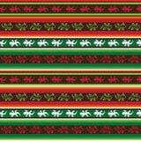 Bezszwowy meksykański jaszczurki tkaniny wzór Zdjęcie Stock