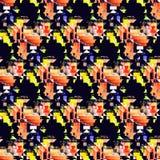 Bezszwowy modny geometryczny wzór zdjęcia stock