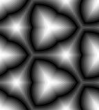 Bezszwowy Monochromatyczny Falisty lampasa wzór geometryczny abstrakcjonistyczny tło Stosowny dla tkaniny, tkaniny i pakować, ilustracja wektor