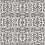 Bezszwowy monochromu wzór Obrazy Stock