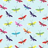 bezszwowy motyli wzór Fotografia Stock
