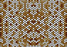 Bezszwowy mozaika okręgu wzoru tło ilustracji