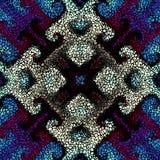 Bezszwowy mozaiki sztuki wzór Fotografia Royalty Free