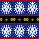 Bezszwowy nautyczny wzór Zdjęcie Royalty Free