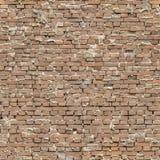 Bezszwowy niedbały ściana z cegieł Fotografia Royalty Free