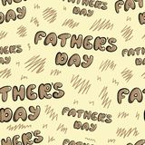 Bezszwowy ojca dzień Zdjęcie Royalty Free
