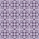 Bezszwowy okręgu rocznika kwiatu wzór Ilustracji
