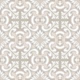 Bezszwowy ornamentacyjny dachówkowy tło Zdjęcia Royalty Free