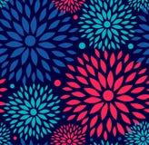 Bezszwowy ornamentacyjny kwiecisty wzór Zdjęcie Stock