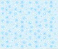 Bezszwowy płatka śniegu tło z gwiazdami Fotografia Royalty Free