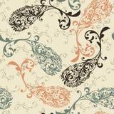 Bezszwowy Paisley wzór Obraz Royalty Free