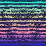 Bezszwowy pasiasty kolor kredy wzór Bezszwowy tło Ilustracja Wektor