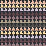 Bezszwowy pastelowego colour tekstury trójboka wzór Projekta elementu zapasu wektoru ilustracja royalty ilustracja