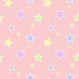 Bezszwowy Pastelu Gwiazdy Wzór Obraz Stock
