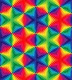 Bezszwowy Piękny Kolorowy fala wzór Monochromatyczny Geometryczny Abstrakcjonistyczny tło Stosowny dla tkaniny, tkanina, pakuje i ilustracja wektor