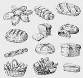 bezszwowy piekarnia wektor royalty ilustracja