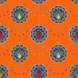 Bezszwowy piękny antykwarski art deco wzoru ornament geometryczny Fotografia Stock