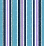Bezszwowy pionowo lampasów tkaniny wzór Obrazy Stock