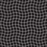 Bezszwowy pluskoczący siatka wzór Abstrakcjonistyczny geometryczny w kratkę siatki tło royalty ilustracja