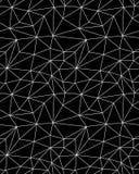 Bezszwowy poligonalny deseniowy tło Obrazy Royalty Free