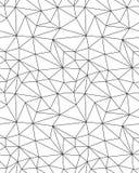 Bezszwowy poligonalny deseniowy tło Fotografia Royalty Free