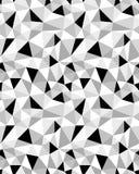Bezszwowy poligonalny wzór Zdjęcia Stock