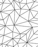 Bezszwowy poligonalny wzór Obraz Stock