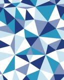 Bezszwowy poligonalny wzór Zdjęcia Royalty Free