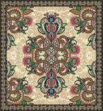 bezszwowy projekta dywanowy ornamental Obrazy Stock
