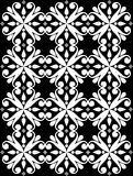 bezszwowy projekta monochrom Zdjęcie Royalty Free