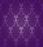 Bezszwowy purpura wzór Obrazy Stock