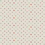 Bezszwowy różnobarwny polki kropki wzór ilustracji