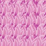 Bezszwowy różowy tło z różanymi płatkami Zdjęcie Royalty Free
