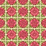 Bezszwowy róża wzór Dwa ilustracji