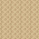 bezszwowy ręka patroszony kwiecisty wzór Fotografia Stock