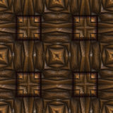 Bezszwowy Renesansowy drewno Fotografia Royalty Free