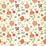 Bezszwowy retro kwiat Zdjęcie Royalty Free