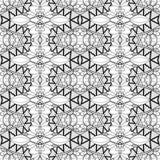 Bezszwowy rocznik koronki wzór (wektor) Zdjęcie Royalty Free