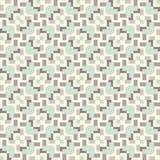 Bezszwowy rocznik tkaniny wzór Fotografia Stock