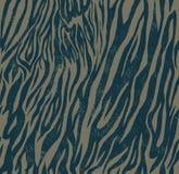 Bezszwowy rocznika stylu wzór z zebrą lub tygrysem Zdjęcie Royalty Free