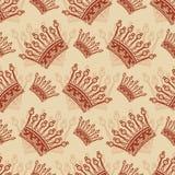 Bezszwowy rocznika tło. royalty ilustracja