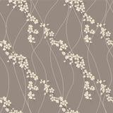 bezszwowy Sakura gałęziasty deseniowy wektor royalty ilustracja