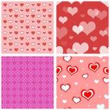 bezszwowy serca valentine Fotografia Stock