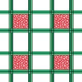 Bezszwowy siatka wzór Z Białymi kropkami zdjęcie royalty free