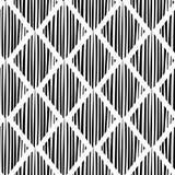 Bezszwowy szachowy rhombus wzór sztuki światła wektoru świat Zdjęcia Royalty Free