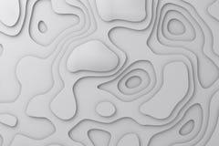 Bezszwowy tło Elegancka liniowa tekstura Faliste linie Odpłaca się 3D obraz royalty free